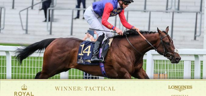 Royal Ascot 2020: Cavalo da Rainha vence corrida (VÍDEO)