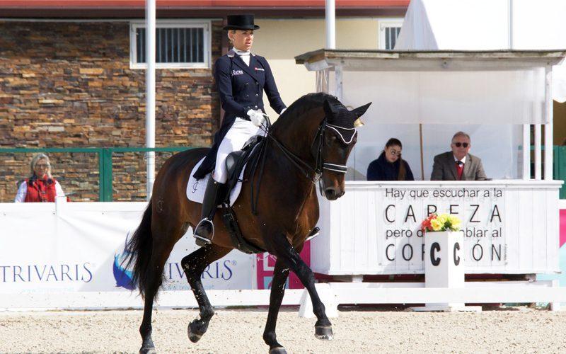 CDI3* Segóvia: Atletas nacionais alcançam duplo pódio em Espanha