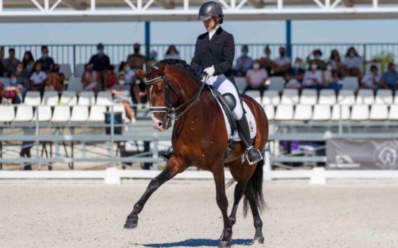 Paula Hermoso de Mendoza destaca-se no Campeonato de Espanha