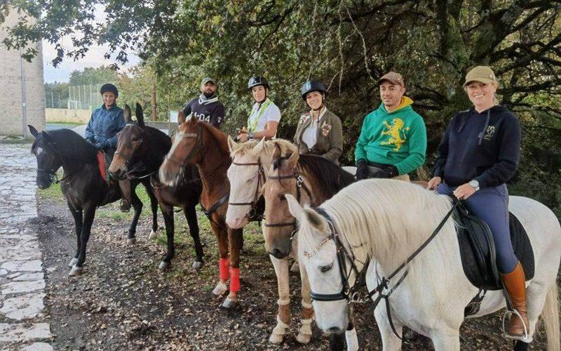 Cavaleiros do Minho exploram Caminhos de Santiago