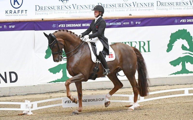 Another dream double for Dufour at first leg in Denmark