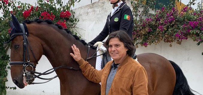 O músico Luís Represas junta-se à causa da Paradressage