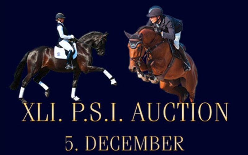 PSI International Auction: Consulte a colecção de poldros registados