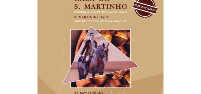 Gala de S. Martinho evoca também a Feira Nacional do Cavalo