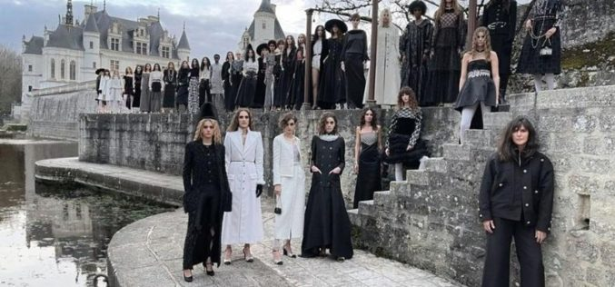 Tendencias do desfile Chanel no Château de Chenonceau (VÍDEO)