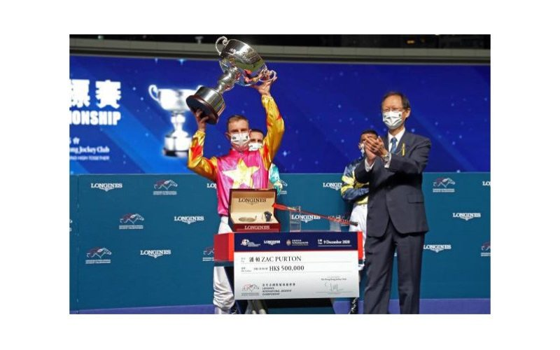 Zac Purton conquista o Longines International Jockeys's Championship (VÍDEO)