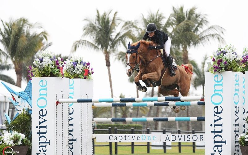 Jessica Springsteen and Volage Du Val Henry Reign Supreme in the Grand Prix