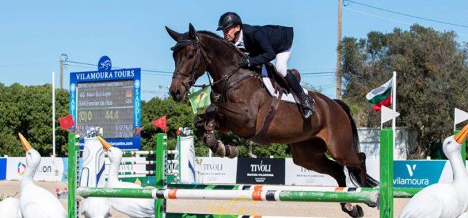Vilamoura Atlantic Tour: Alemão Marc Bettinger vence final para Cavalos de 6 Anos