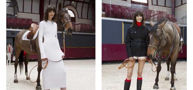 Sophie Delafontaine inspira-se no icónico logótipo do cavalo de corrida