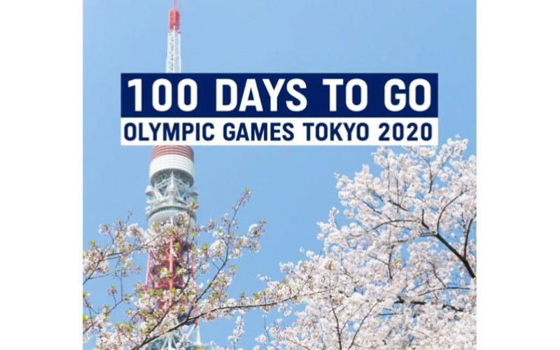 Faltam 100 dias para o início dos Jogos Olímpicos