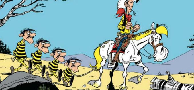 Lucky Luke e Jolly Jumper regressam à televisão