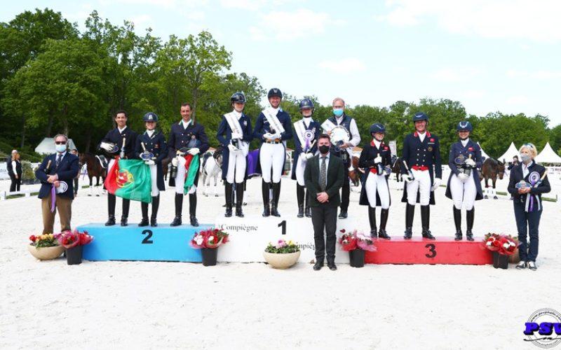 CDIO5* Compiègne: Medalha de prata para Portugal em França