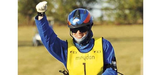 Maria Alvarez Ponton vencedora do CEI*** da Barroca