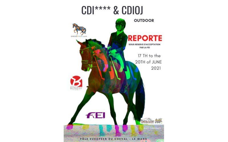 CDI4* Le Mans: Carlos Pinto e Duarte Nogueira inscritos