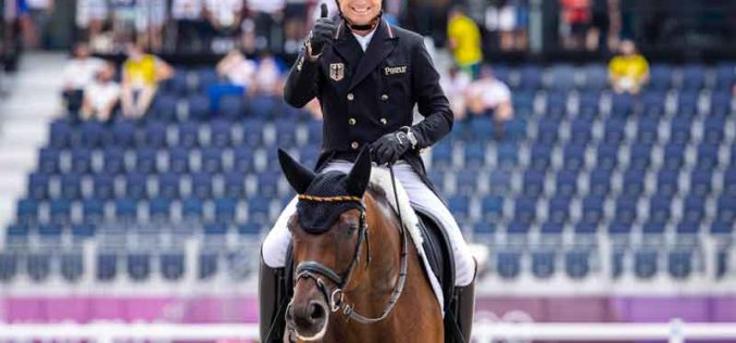 Tokyo 2020: Eventing Dressage Day 2