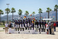 Campeonato da Europa de Dressage da Juventude 2021: Equipa alemã Junior conquista o primeiro ouro