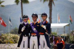 Campeonato da Europa de Dressage da Juventude 2021: Entrega das medalhas individuais Children e do Freestyle