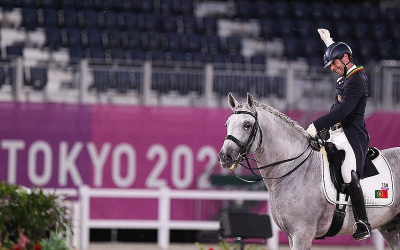 Tóquio2020: Portugal na final de Dressage por Equipas. Rodrigo Torres na final Individual