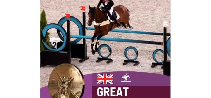 Britain bags Eventing team gold