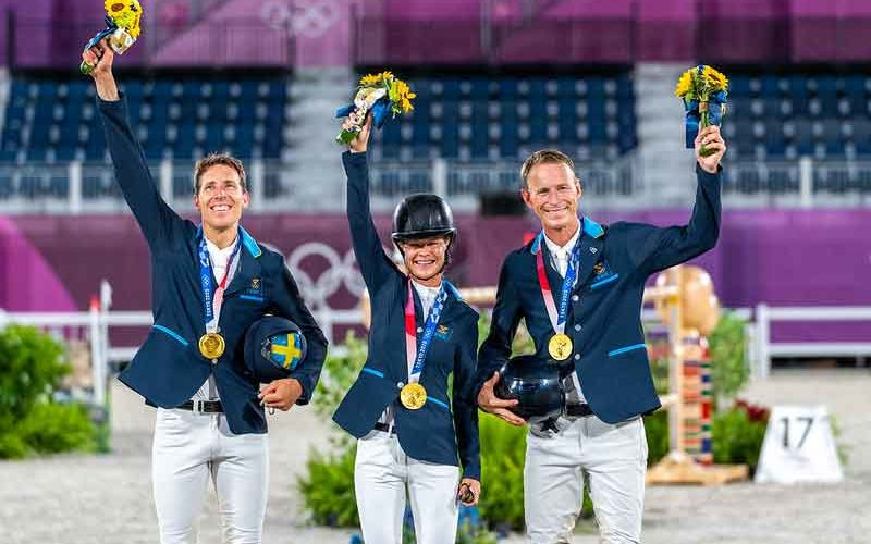 Tokyo2020: Sensational Swedes take Jumping Team gold