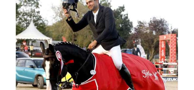 Gijón Horse Jumping Tour 2021: Tocou o Hino de Portugal para Hugo Tavares