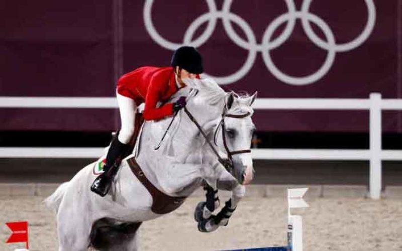 Tóquio2020: Luciana Diniz na final de saltos de obstáculos (VÍDEO)