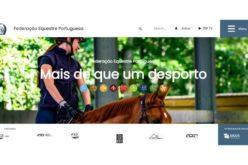 """O novo """"site"""" da Federação Equestre Portuguesa"""