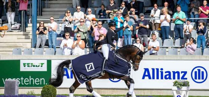 CHIO Aachen: Isabell Werth vinga-se no GP Freestyle (VÍDEO)