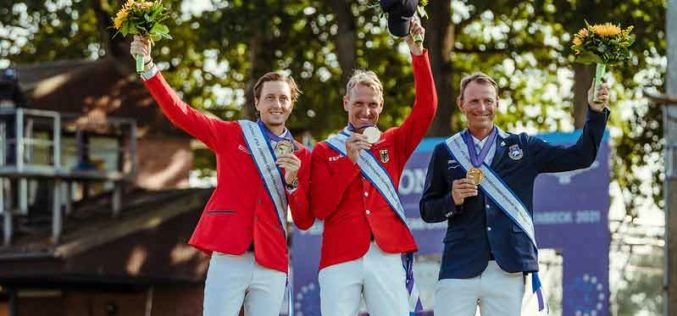 Individual gold for Germany's Thieme on a magnificent day of sport