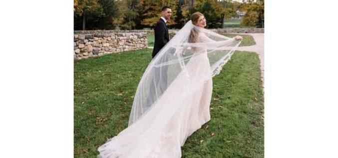 Jennifer Gates e Nayel Nassar dão o nó